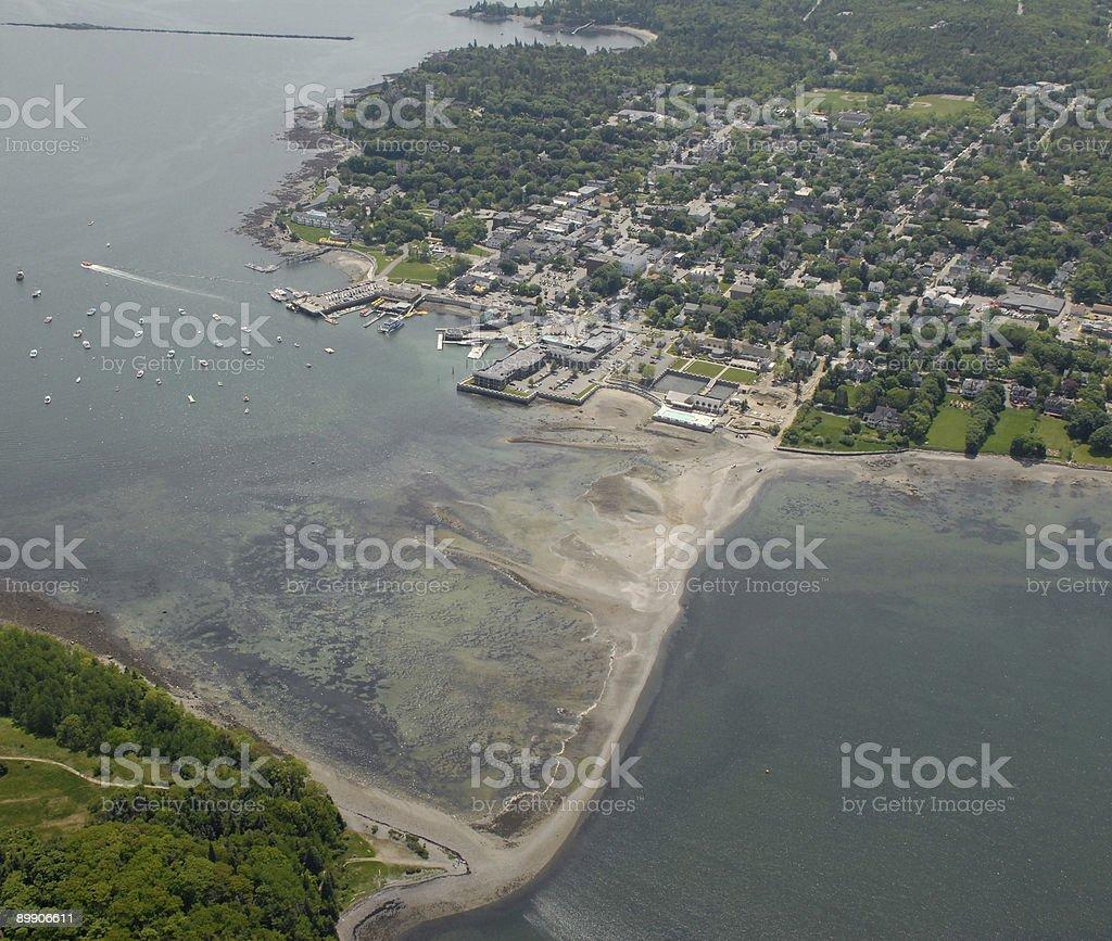 Bar Harbor landmark royalty-free stock photo