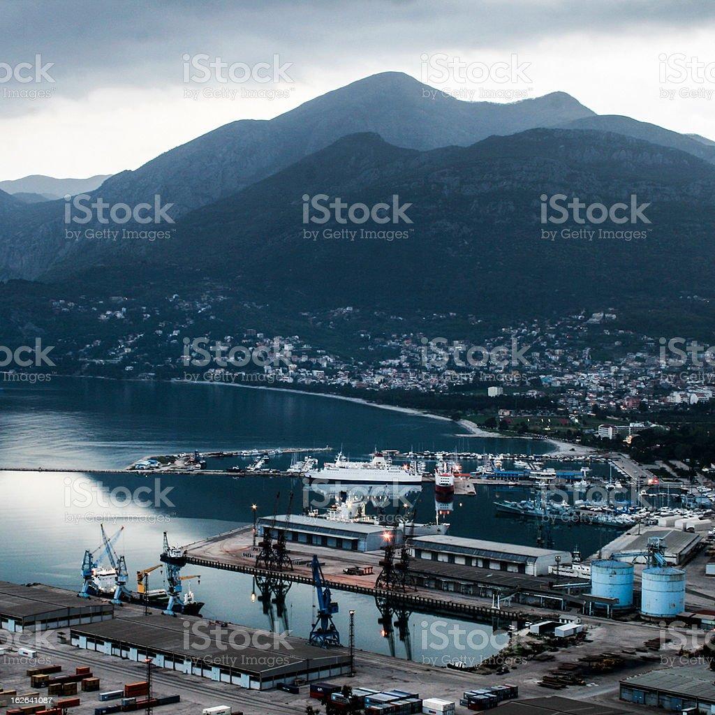 Puerto - foto de stock