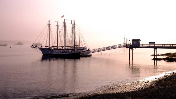 Bar Harbor Schiffskreuzfahrt , Mount Desert Island, Maine, USA. – Foto