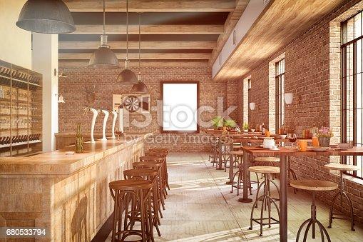 istock Bar Interior 680533794