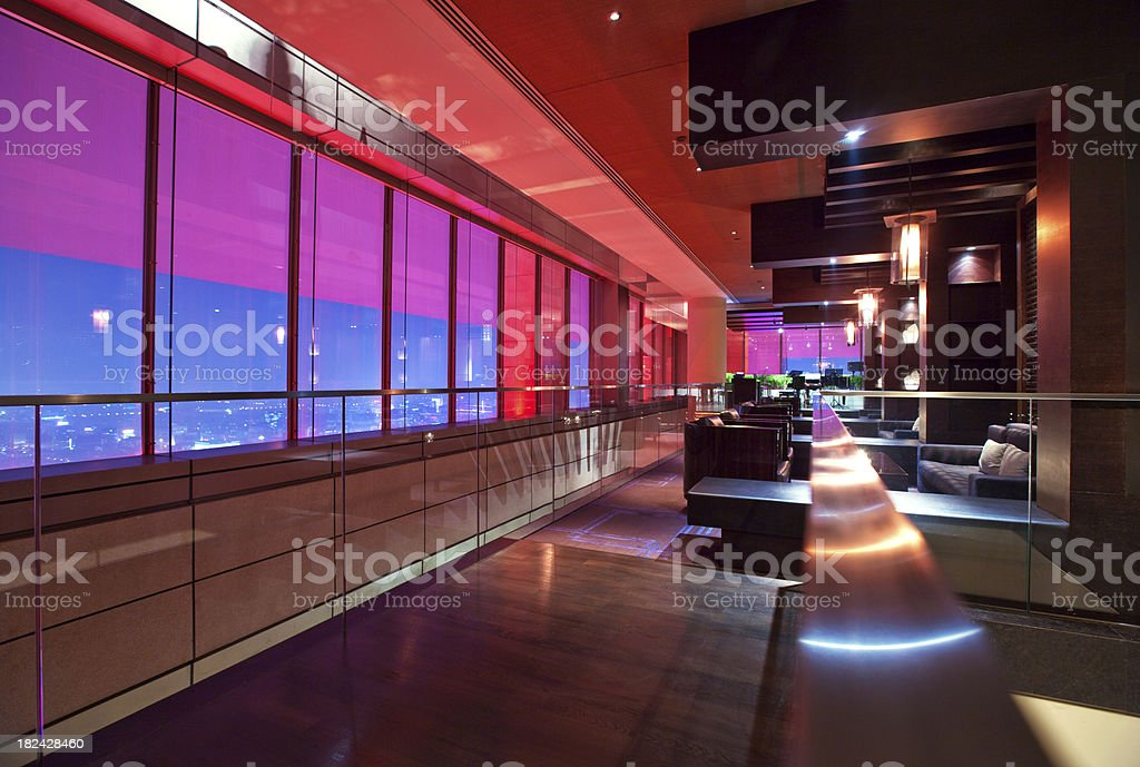 Bar Lounge stock photo