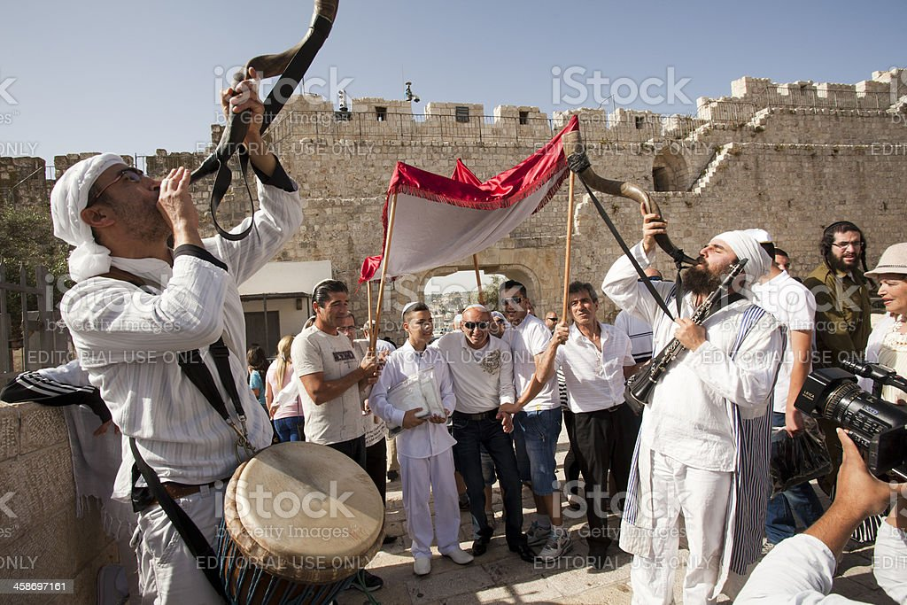 Bar Mitzvah, Jérusalem,, Israël - Photo