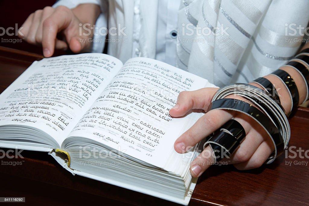 Bar Mitzvah, viene de edad según el rito judío - foto de stock