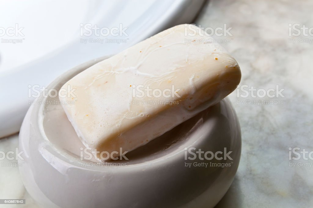 Bar of Soap stock photo