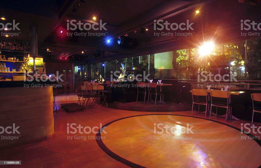 Bar, restaurant and disco stock photo
