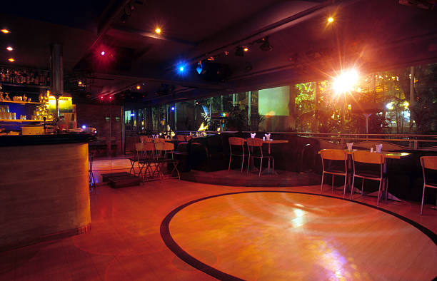 bar, restaurant and disco - dance floor stock photos and pictures