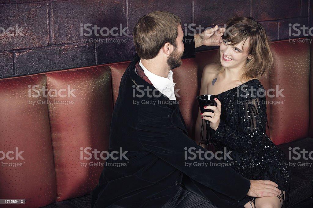Bar Scene stock photo