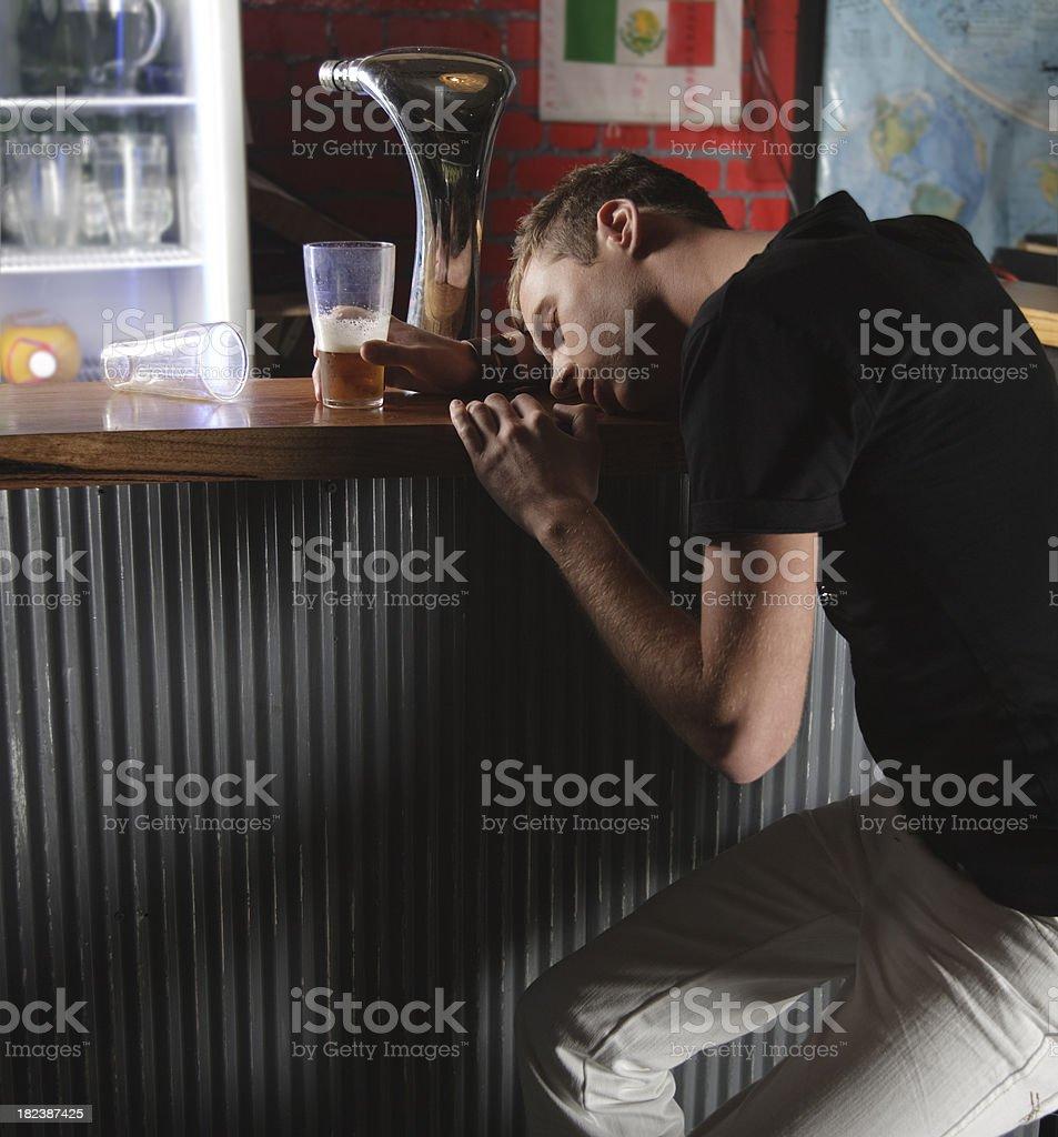 Bar Scene royalty-free stock photo