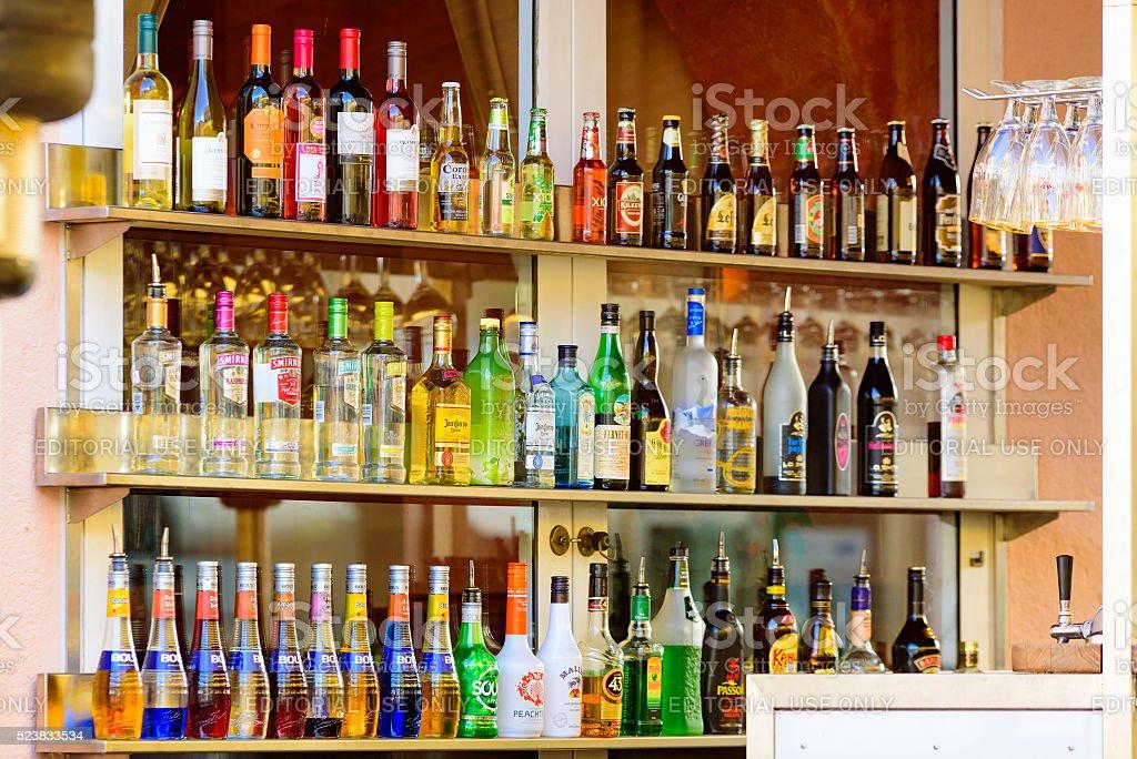 Bar shelf foto
