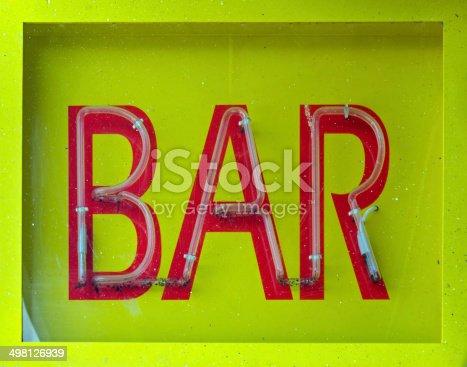 istock Bar Sign 498126939