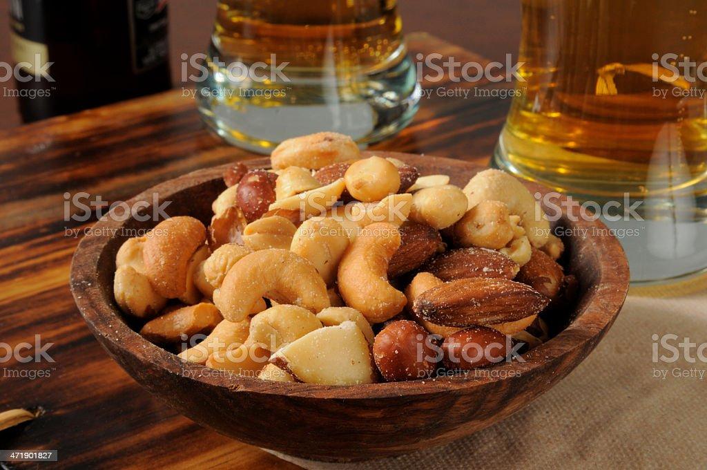 Bar snacks stock photo