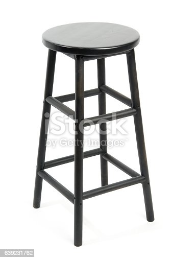istock Bar stool isolated 639231762