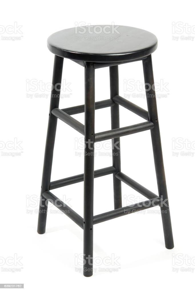 Bar stool isolated stock photo