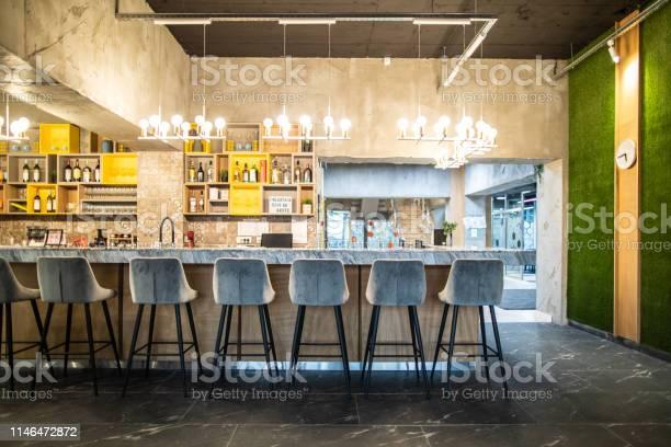 Bar stools in modern restaurant picture id1146472872?b=1&k=6&m=1146472872&s=612x612&h=ykenukm85vgjpmjs07jrgu6tw0k aghep4haomc2zfm=