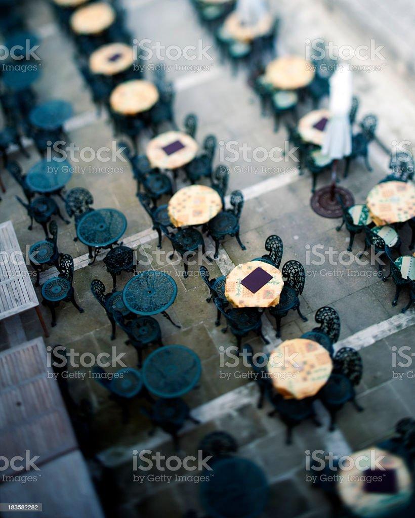 Bar terrace in Malta royalty-free stock photo