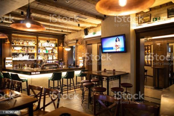 Bar without guests picture id1162961471?b=1&k=6&m=1162961471&s=612x612&h=s7foboegucdposzsdoui6yco78rvs skxil eeq8jgq=