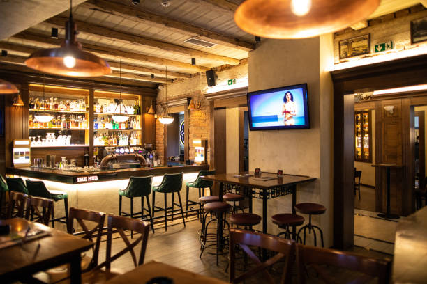 Bar ohne Gäste – Foto
