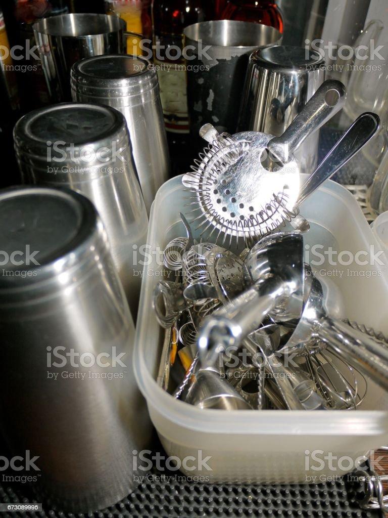 Barra de utensílios de trabalho - foto de acervo