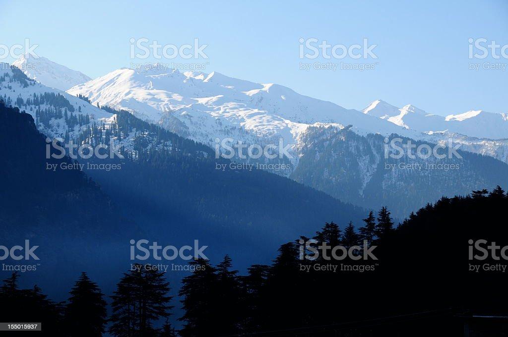 Bara Bhangal , Pir Panjal ranges,Kullu Valley,Himachal Pradesh,India. stock photo