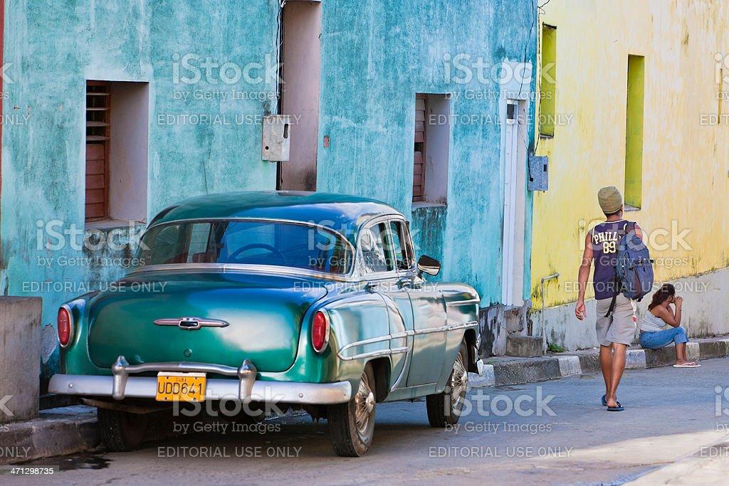 Baracoa City Life, Cuba royalty-free stock photo