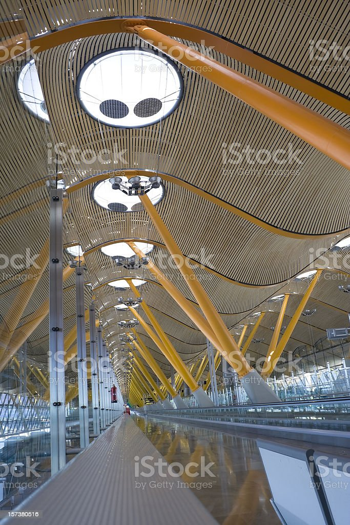Barajas Madrid Airport royalty-free stock photo