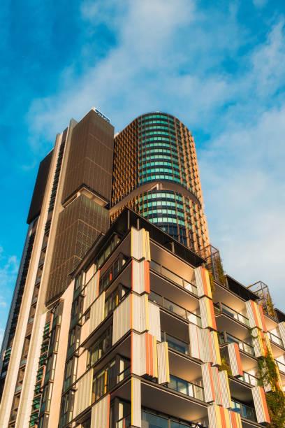 barangaroo international tower - barangaroo stock photos and pictures