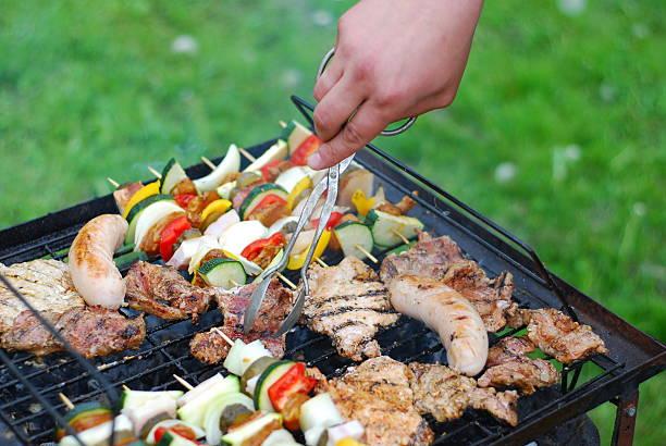 Barbacue - grill stock photo
