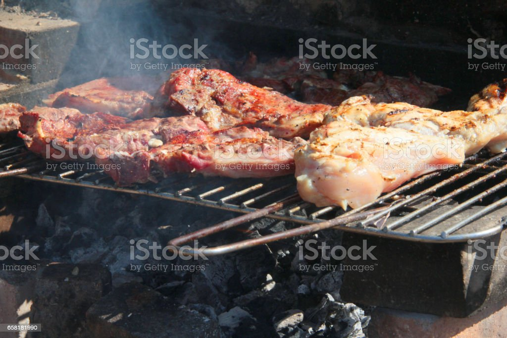 barbacue - foto de stock