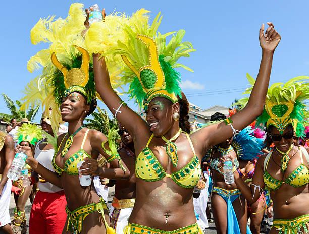 Barbados Crop über Festival – Foto