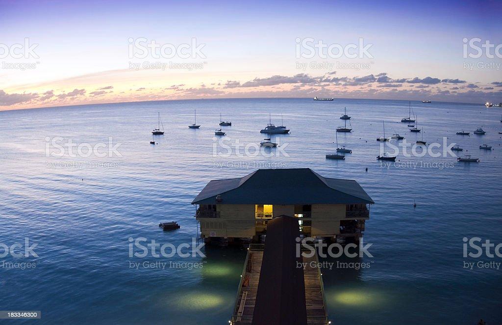 Barbados Nights stock photo