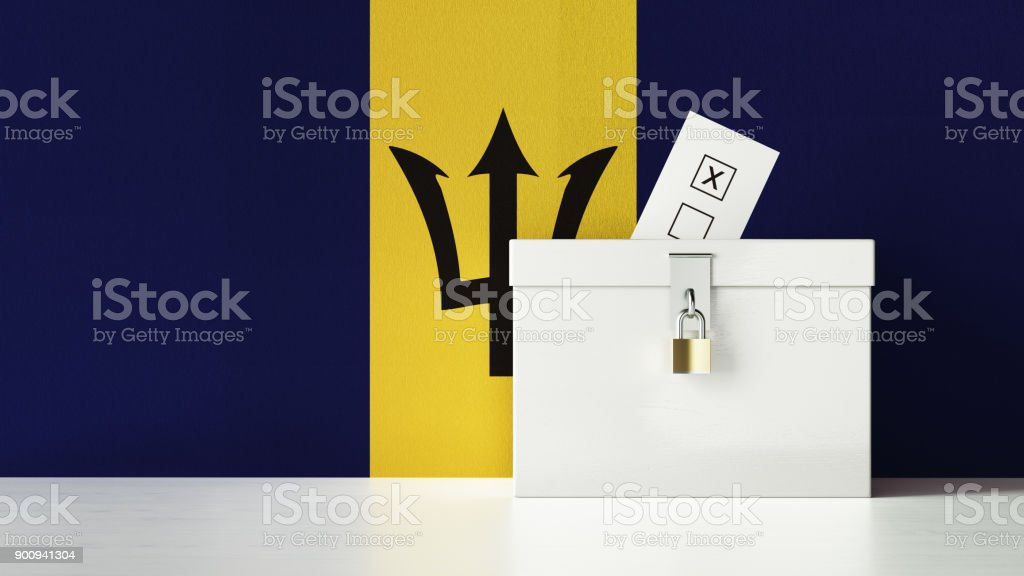 Barbados Presidential and Legislative Elections Concept stock photo