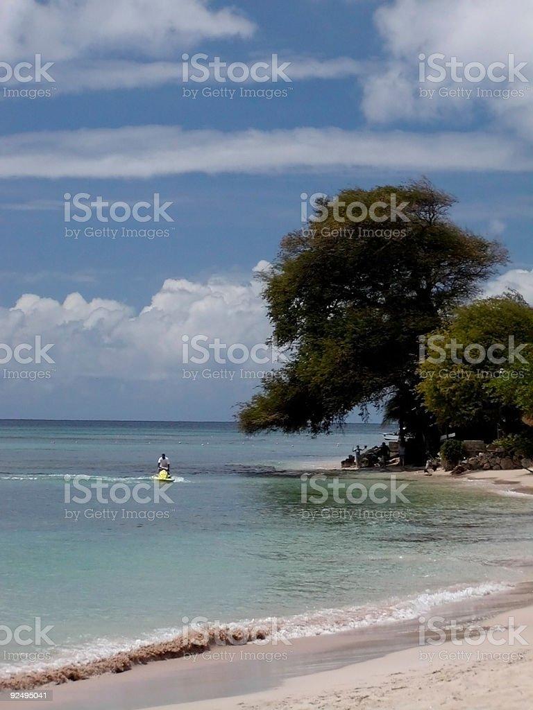 Barbados Water sport royalty-free stock photo