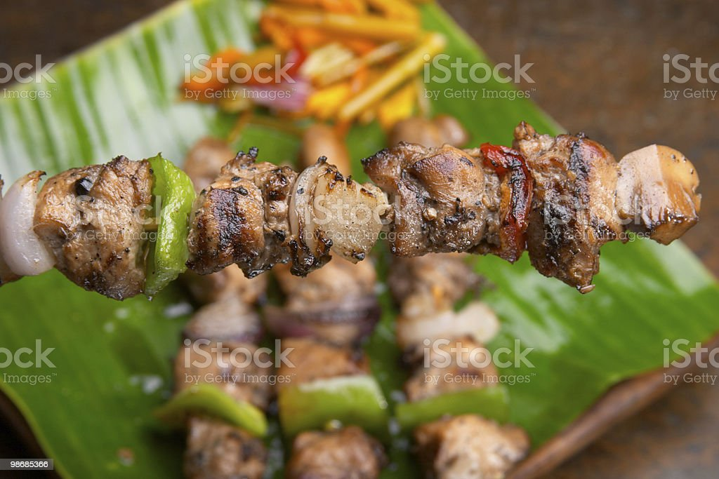 barbecue 1 foto stock royalty-free