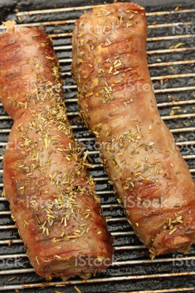 Barbecue Andouillette de Troyes aux herbes de Provence - Photo
