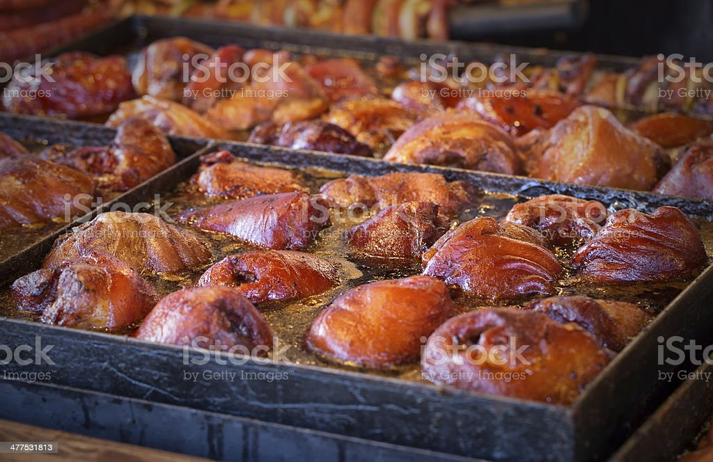 Barbecue BBQ food royalty-free stock photo