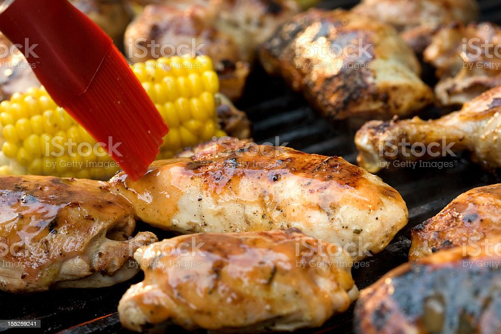 Barbecue Chicken Marinade royalty-free stock photo