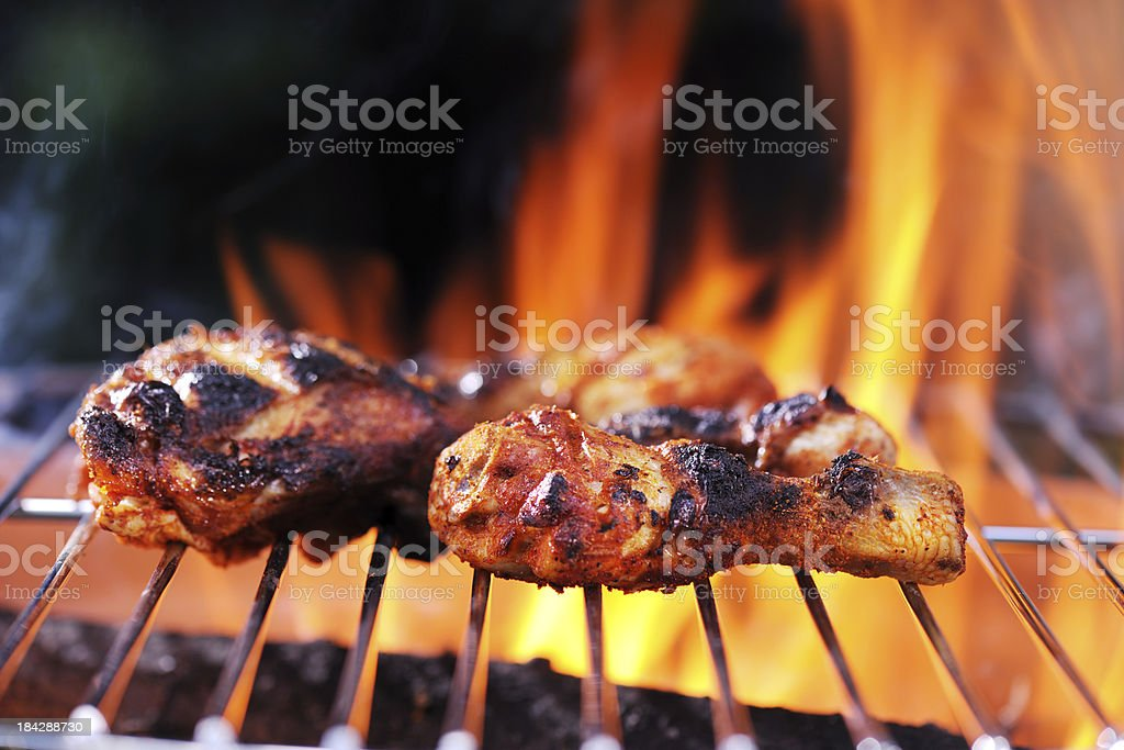 Barbecue Chicken stock photo