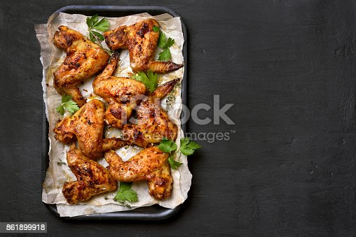 istock Barbecue chicken wings 861899918
