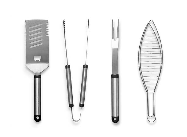 Barbecue Cooking Utensils stock photo