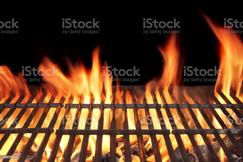 Barbecue Fire Grill stock photo