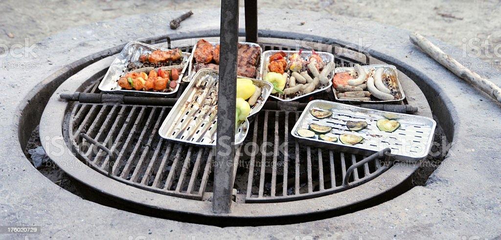 Barbecue Grill royalty-free stock photo