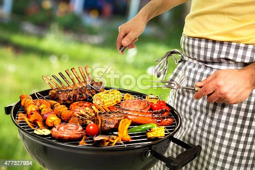 646207652istockphoto Barbecue grill 477327934