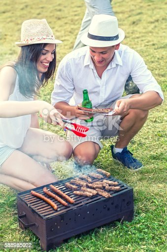 696841580istockphoto Barbecue in nature 588985022