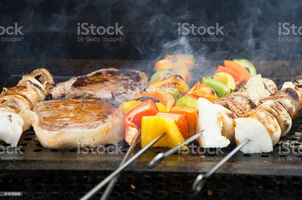 Barbecue meals 1 royalty-free stock photo