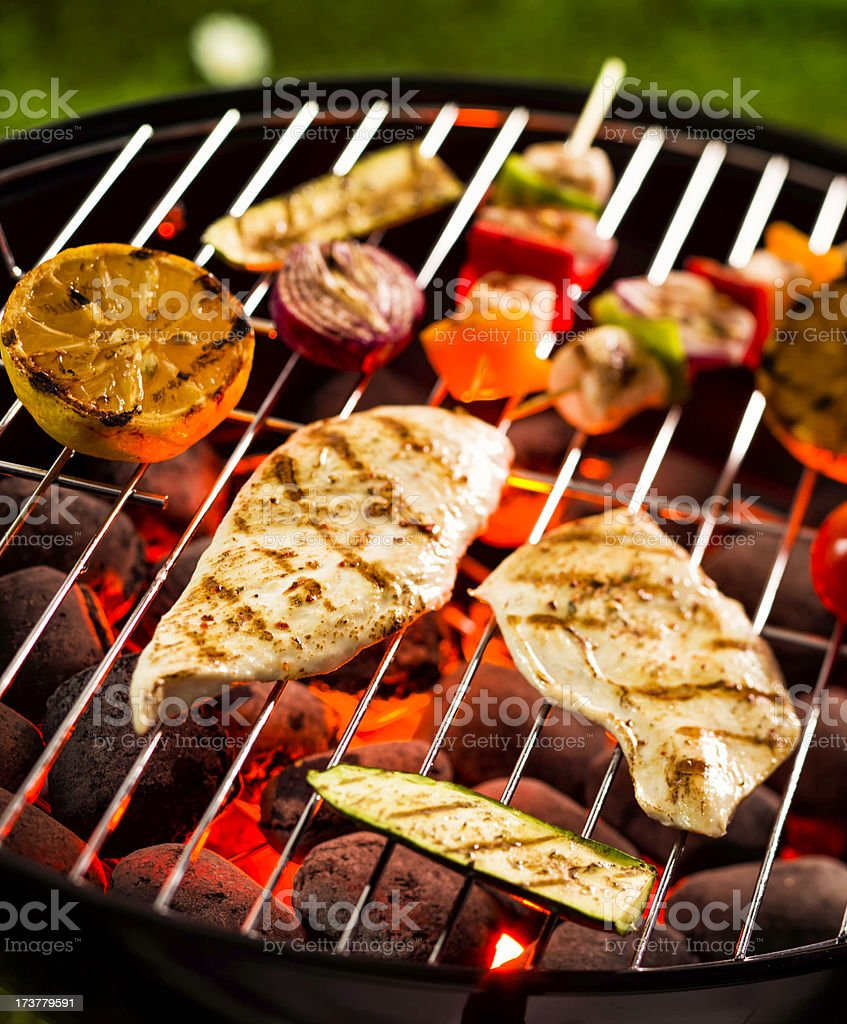 Barbecue royalty-free stock photo