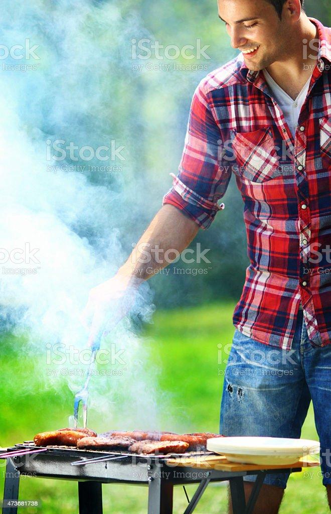 Barbecue. stock photo