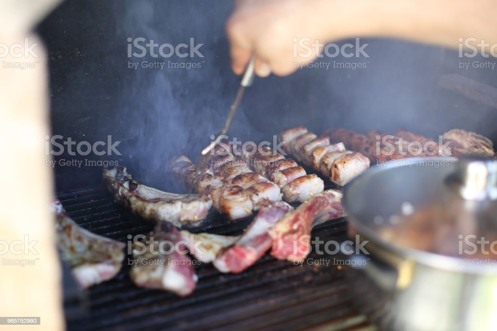Barbecue - Royalty-free Adult Stock Photo