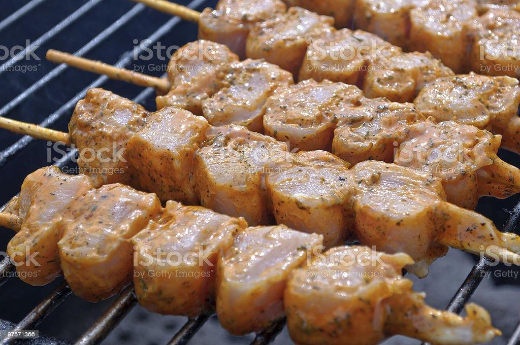 Au Barbecue photo libre de droits