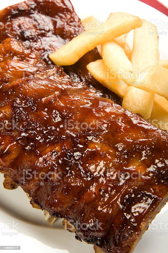 Barbecue Ribs royalty-free stock photo
