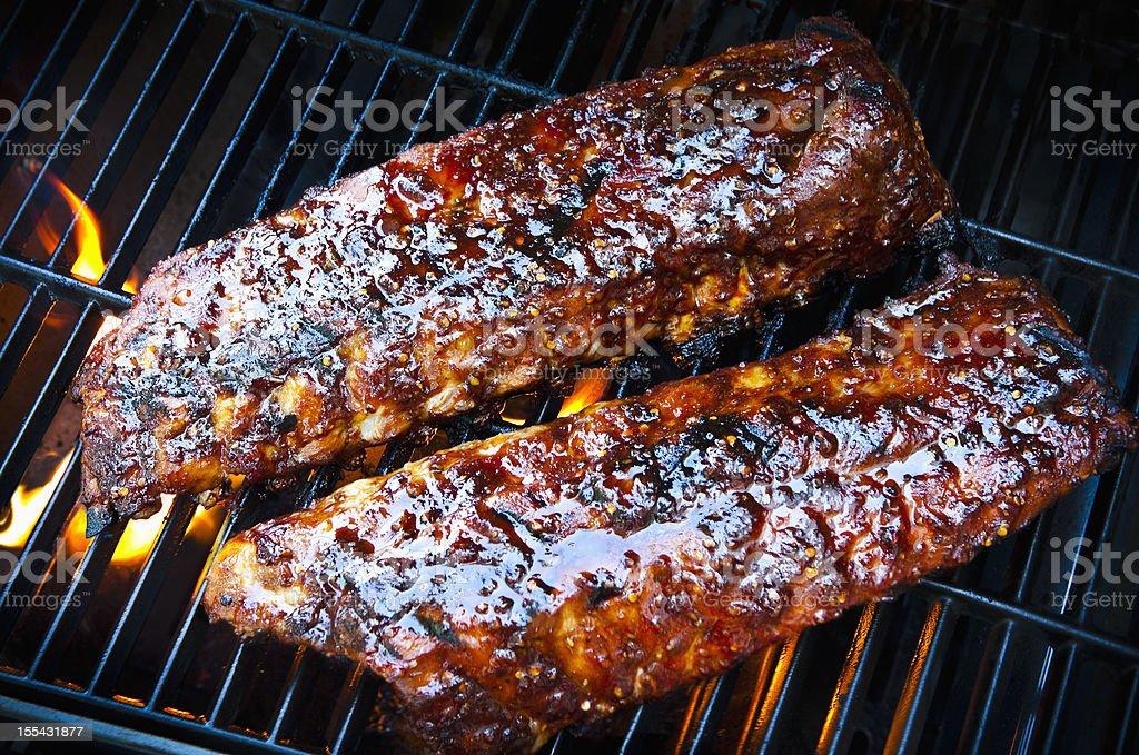 Barbecue Ribs stock photo